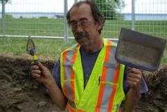 Christian Bélanger, Archéologue superviseur