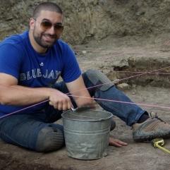 Dario Guiducci, Archéologue superviseur