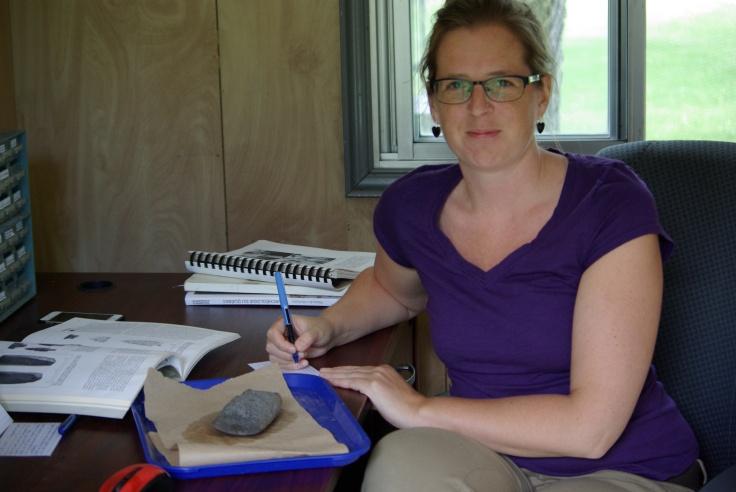 Marie-Pierre Gadoua - Archéologue superviseure
